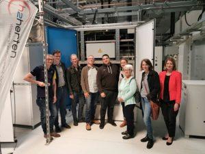 Wasserstoffanwender-Zentrum Gruppenfoto