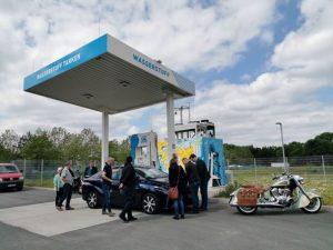 Wasserstoffanwender-Zentrum Tanksäule